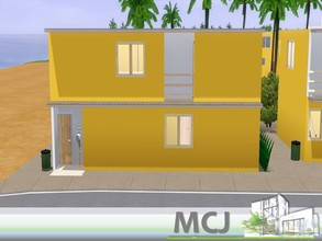 Sims 3 —  by ritamartins18 — This house has two floors, on the ground floor has a bathroom, a large living room, an