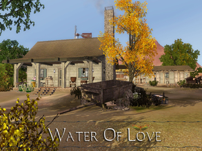 Sims 3 — Water Of Love by fredbrenny — Water Of Love, deep in the ground. It is the Western lot used by Titus Linde for