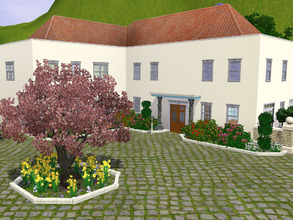 Sims 3 — The Spring House by ridiculousss — A home for new growth and changing weather. Features include three bedrooms