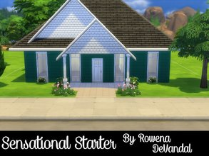 Sims 4 — Sensational Starter by Rowena DeVandal — If your Sims are looking to start a family, I am happy to say they need