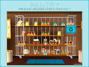 Sims 3 — Pantry Part 3 The Rack by Cashcraft — It's more pantry stuff. Pantry Part III, The Rack is sure to please Sims