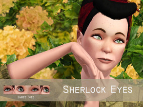 Sims 3 — Sherlock Eyes by Banok — Yepp it's Sherlock Holmes right eye and yes i don't recognize it eitherXD but still