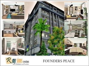 Sims 3 — Founders Peace by Ray_Sims — Built as the twin to its higher class neighbor, Founders Peace was quickly eclipsed