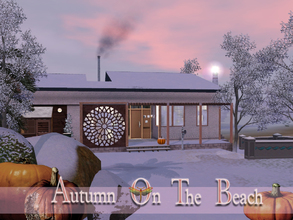 Sims 3 — Autumn On The Beach by fredbrenny — Yes. Sometimes it is not sunny and warm at the beach. You buy a beach house