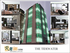 Sims 3 — The Tidewater by Ray_Sims — Boasting some of the best views in the city, The Tidewater is popularly featured in