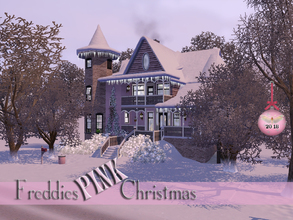 Sims 3 — Freddies Pink Christmas  by fredbrenny — Merry Christmas and a Happy New Year! Please enjoy this pinkish
