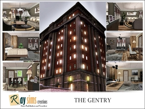 Sims 3 — The Gentry by Ray_Sims — Formerly utilitarian working class housing, The Gentry long fell out of favor.