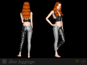 Sims 3 — Star leggings by Shushilda2 — Leggings from Barrybass performance https://youtu.be/8zmxh6e02TQ - 3 recolorable