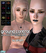 Sims 2 — Ground Control - Alien Contacts by gelydh — Ten eyes from my \'Space Oddity\' set made into contacts. Will be