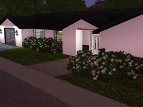 Sims 3 — Blunsi's Summer Estate by Blunsiofficial — An one-storey building with 1 bedroom, 1 bathroom, living room,