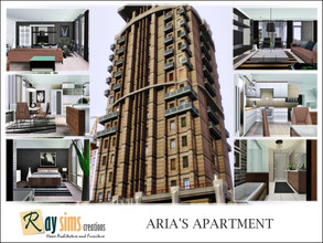 Sims 3 — Aria's Apartment by Ray_Sims — Aria Trill's Apartment. Although it is newer and boasts better views, Two Leo