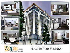 Sims 3 — Beachwood Springs by Ray_Sims — Buster Round House. Once a fashionable resort for Sims seeking curative waters,