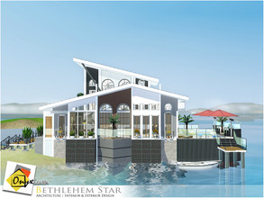 Sims 3 — Bethlehem Star by Onyxium — On the first floor: Living Room | Dining Room | Kitchen | Bathroom | Adult Bedroom |