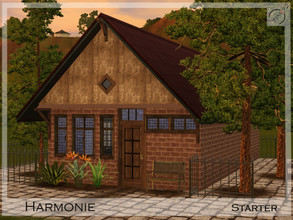 Sims 3 — Harmonie Starter by timi722 — Small starter house for one.