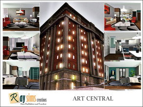 Sims 3 — Art Central by Ray_Sims — Open loft spaces for the artists in residence, Terpsichore studios offer live/work