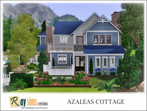 Sims 3 — Azaleas Cottage by Ray_Sims — This house has 3 bedrooms, and 3 bathrooms. I really hope you guys like it.. Thank