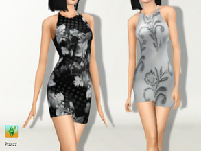 Sims 3 — Summer Mini by pizazz — Great Summer Mini for everyday, formal, and career ****** NOTE ****** To have the dress