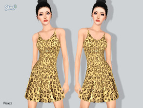 Sims 3 — Sun Dress V 002 by pizazz — Summer Sun dress for those warm days. Or great nights out on the town. Mesh by me