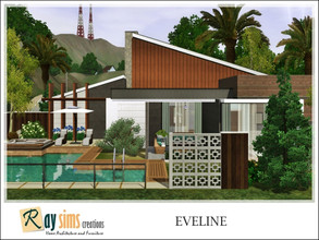 Sims 3 — Eveline by Ray_Sims — This house has 2 bedroom and 1 bathroom. I really hope you guys like it.. Thank you very