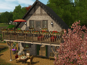 Sims 3 — Little dream to Dragon Valley by sgK452 — Charming little house with all the comforts, for a person or a couple,