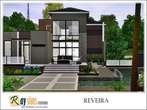 Sims 3 — Reveira by Ray_Sims — This house has 2 bedroom and 2 bathroom. I really hope you guys like it.. Thank you very