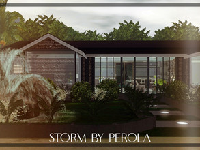 Sims 3 — Storm  by perolasims — Beautiful house with: - 1 double bedroom with dressing room and suite; - 1 double