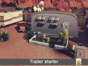 Sims 4 — Trailer starter by GenkaiHaretsu — It's just a trailer for a cheap life.
