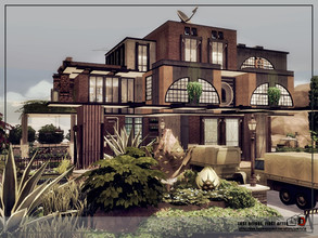 Sims 4 — Last before, first after by Danuta720 — Home just before the Apocalypse. The building and interiors are not