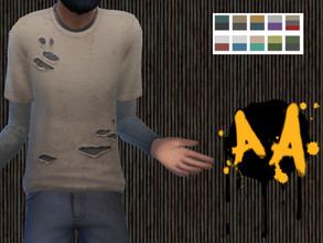Sims 4 — Apocalypse Apparel - Layered Shirt - Island Living needed by Bluebrick04 — This is my first item to go up. I