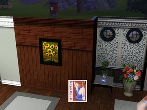 Sims 3 — brown wood wall by watersim44 — Nice brownwood, for your house. I tast'it in the game: World adventures -
