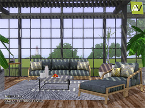Sims 3 — Graeagle Outdoor Living by ArtVitalex — - Graeagle Outdoor Living - ArtVitalex@TSR, Jun 2020 - All objects are