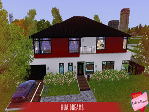 Sims 3 — Hua Dreams by Tails_in_Flames — 5 br, 4 ba. Completely furnished, toddler/baby, child, and teen friendly. CC