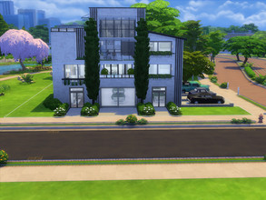 Sims 4 — Modern Penthouse by AS_Noroi — All my Creations are also on the Sims4 Gallery. Name: AS_Noroi Always use