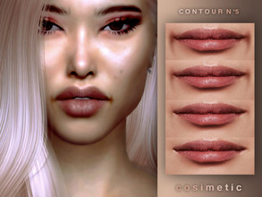 Sims 4 — Contour N5 by cosimetic — - This contour can use on all genders and from teen to elder. - Contains [10] colors