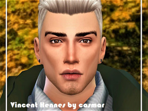 Sims 4 — Vincent Hennes by casmar — I present to the handsome Vincent. He is a creative, outgoing and romantic young man!