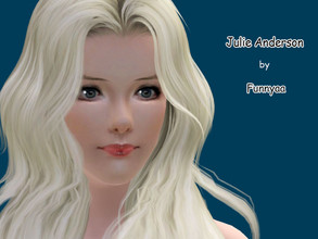Sims 3 — Julie Anderson by Funnyaa by Funnyaa — Julie Anderson Julie Anderson is a young sweet sim, who loves music and
