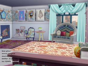 Sims 4 — Indian Summer Boho MishMash See notes for required packs by seimar8 — This set comprises of 20 pieces of
