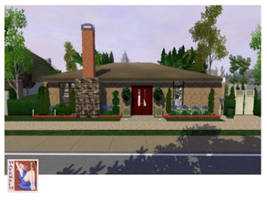 Sims 3 — Devious Maids - House Spencer ws by watersim44 — This is a new house for your Sims. Livingroom with a Fireplace,
