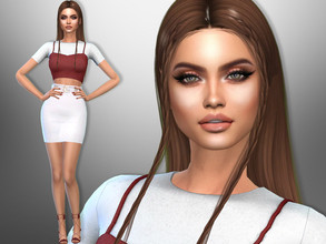 Sims 4 — Anna Martin by divaka45 — Click on the Creator Notes tab (next to description) to see the full list of CC!!!