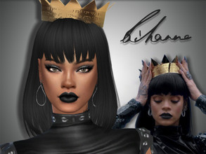 Sims 4 — Rihanna by Jolea — Rihanna :) This is my Celebrity inspired Rihanna, hope you'll like it. If you want the Sim to