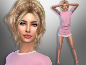 Sims 4 — Yoanna Griffin by divaka45 — Click on the Creator Notes tab (next to description) to see the full list of CC!!!