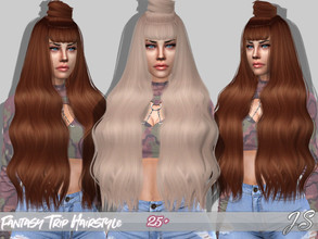 Sims 4 — JavaSims- Fantasy Trip (Hairstyle) by JavaSims — ABOUT