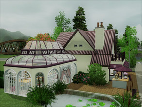 Sims 3 — Dance Tea Bakery no CC by sgK452 — on a 20x20 lot Your sims will find a romantic place to spend an afternoon