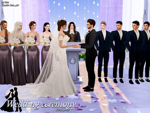 Sims 4 — Wedding ceremony (Pose Pack) by Beto_ae0 — Poses for a wedding, I hope you like them To use the poses you need