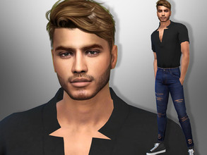 Sims 4 — Elliot Evans by divaka45 — Go to the tab Required to download the CC needed. DOWNLOAD EVERYTHING IF YOU WANT THE