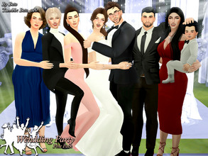 Sims 4 — Wendding Party II (Pose Pack) by Beto_ae0 — Poses to celebrate after a beautiful wedding To use the poses you