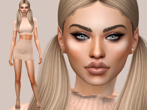 Sims 4 — Shannon Thomas by MSQSIMS — Name : Shannon Thomas Age : Young Adult Aspiration: Serial Romantic Traits: