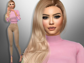Sims 4 — Andra Rice by divaka45 — Go to the tab Required to download the CC needed. DOWNLOAD EVERYTHING IF YOU WANT THE