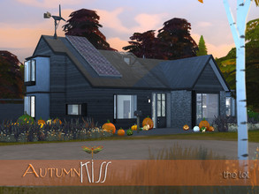 Sims 4 — Autumn Kiss - The Lot by fredbrenny — This lot is the shell for my rooms I have uploaded so far. The Closure so