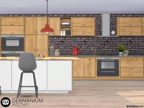 Sims 4 — Germanium Kitchen Part II by wondymoon — Germanium kitchen part II; Appliances and more! Have fun! - Set